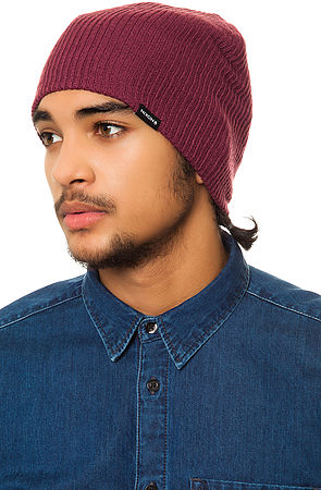 Nixon Compass Beanie in Purple